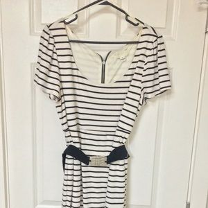 Forever 21 Striped Body-Con Dress